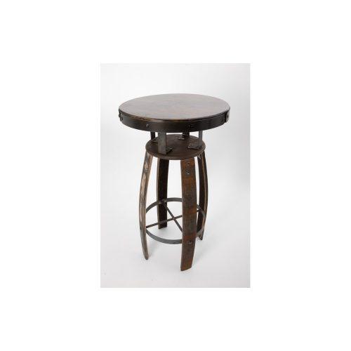 Barrel Poseur Table