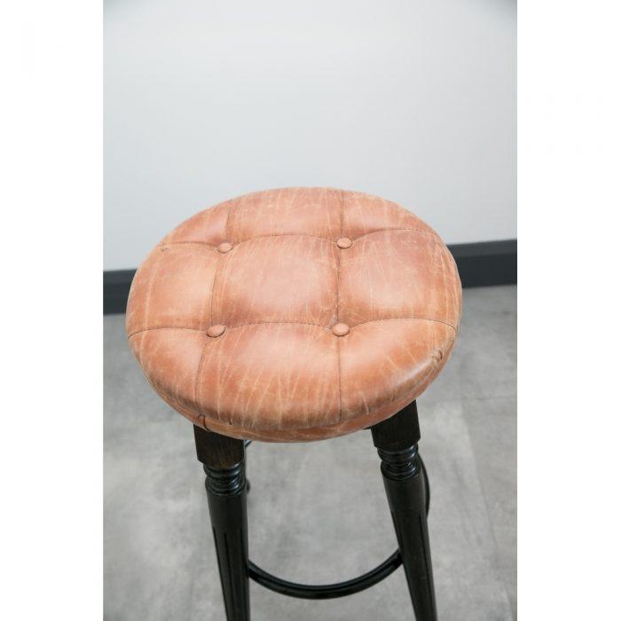Upholstered High Stool