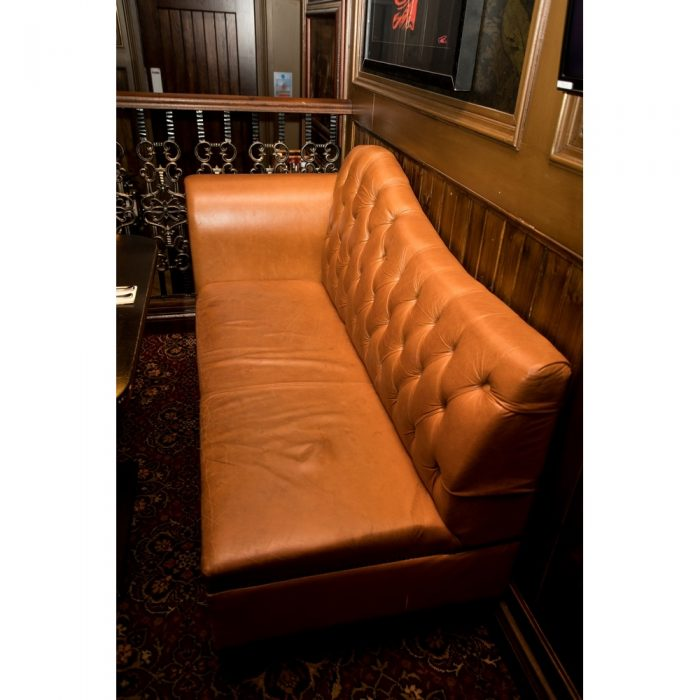 Sofa upholstered in chosen fabric