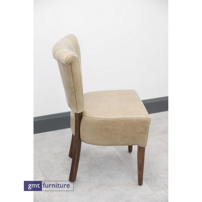 Upholstered seat and back