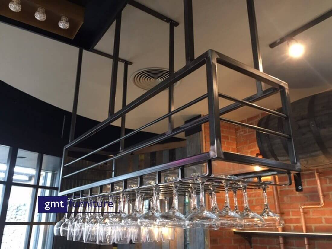 Feature Glass Rack