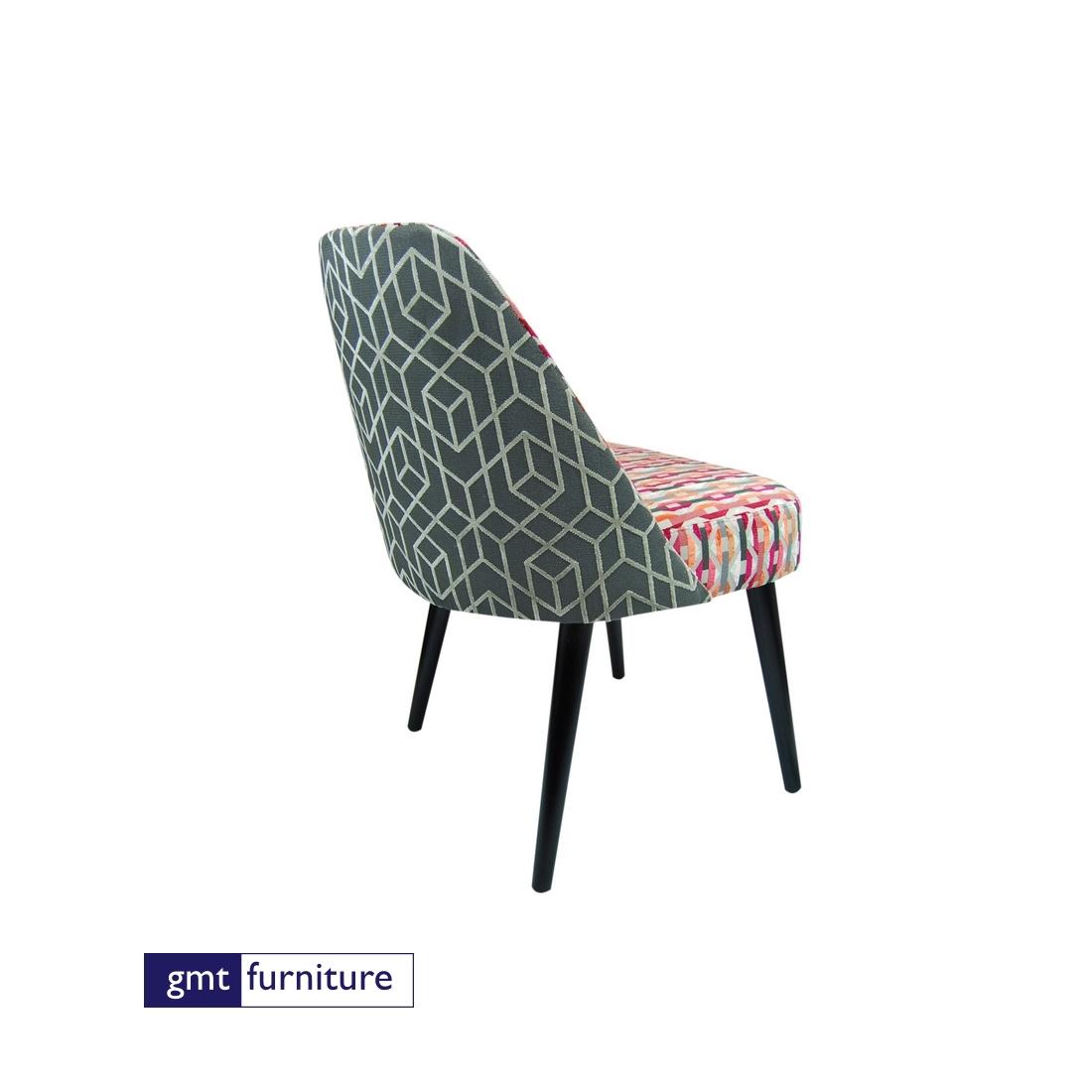 Upholstered Seat & Back