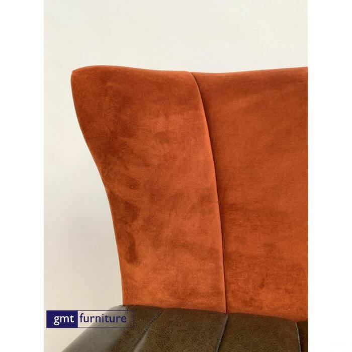 Sofa High Level upholstered in chosen fabric